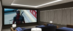 Home Cinema Design Render